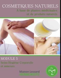 hygiène corporelle naturel, fabrication de cosmétique, produit de beauté