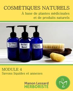 Savon liquide naturel, fabrication de cosmétique, produit de beauté