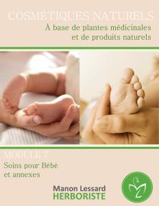 soins bébé naturels, fabrication de cosmétique, produit de beauté