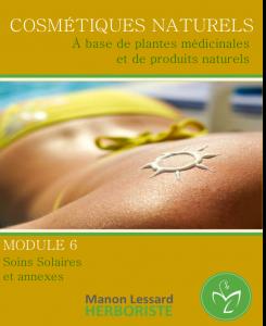 soins solaires naturels, fabrication de cosmétique, produit de beauté