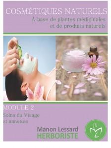 Soin visage naturel, fabrication de cosmétique, produit de beauté